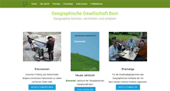Preview of geographiebern.ch